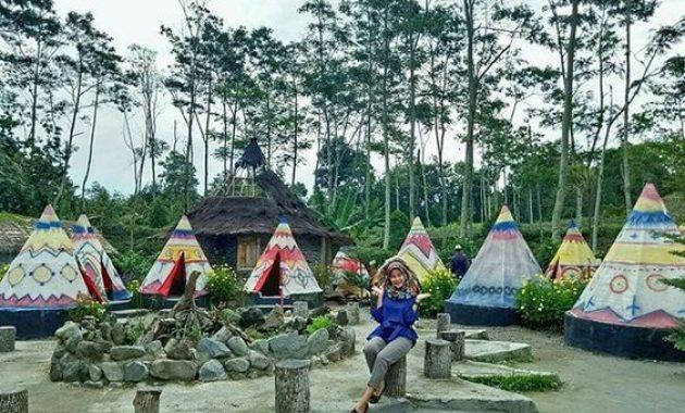 Wisata kediri hits kampung indian