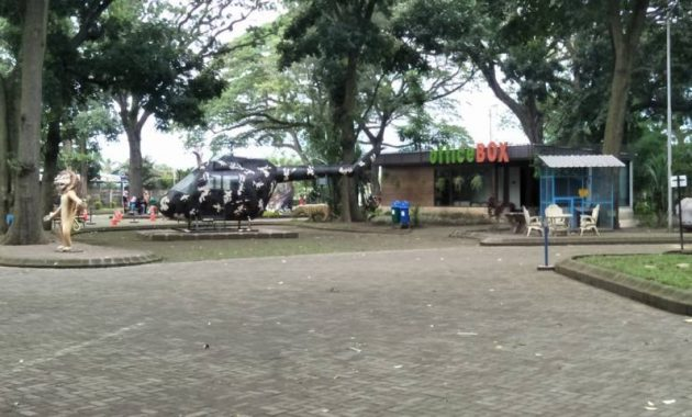 Area taman tirtoyoso kediri
