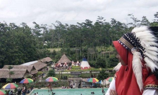 Pesona Kampung Indian Kediri