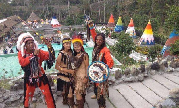 Wisata kediri terbaru kampung indian