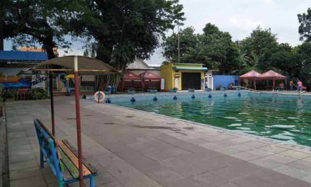 Wisata kolam renang kediri hits