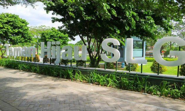 Gambar Taman hijau SLG Kediri