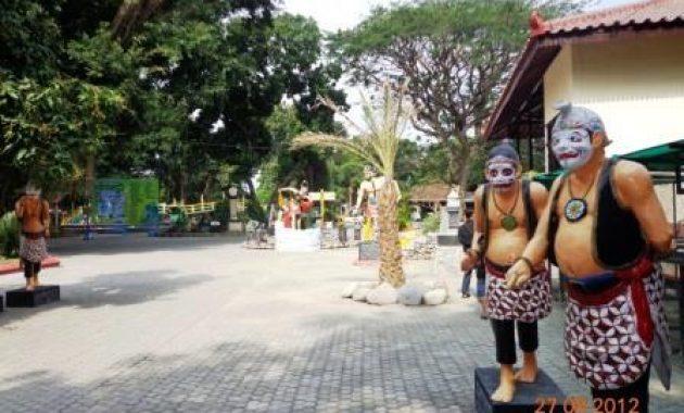 Gambar area taman pagora kediri