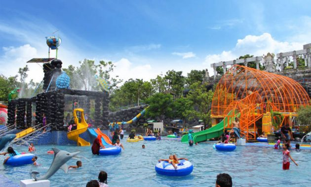Kolam renang anak waterpark kediri