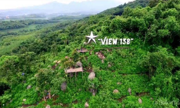 Lokasi wisata view 138 kediri hits