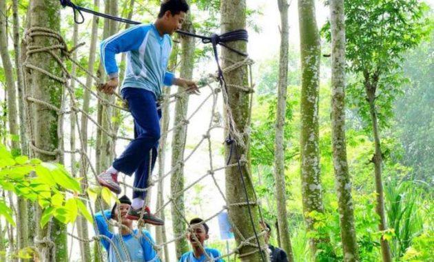 Outbond kediri eco park
