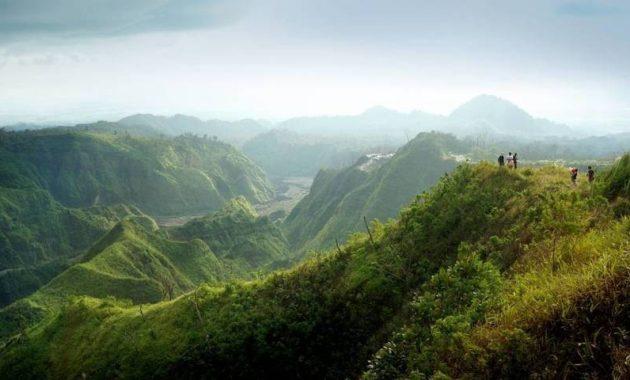 Pesona dan keindahan gunung kelud kediri