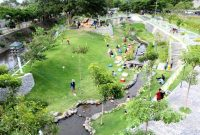 Wisata kediri hits taman hijau SLG