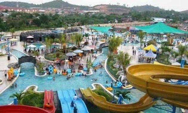 Wisata kolam renang kediri terbaru
