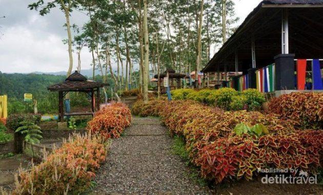 Gambar pemandangan taman agro margomulyo kediri