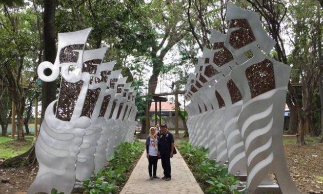 Wisata kota kediri taman joyoboyo