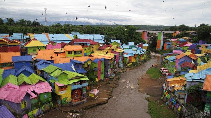 Kampung 3d Malang Jembatan Kaca