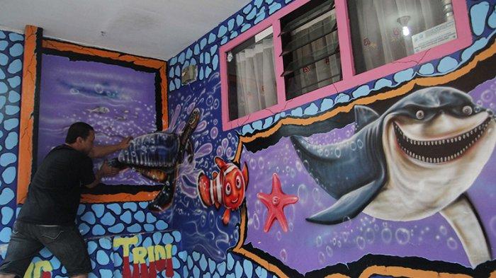 Kampung tridi jodipan village Malang