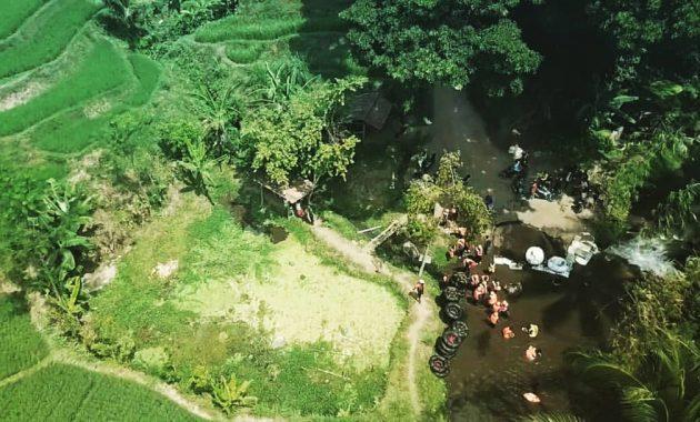 Lokasi Wisata Kampoeng Banyu River Tubing Malang