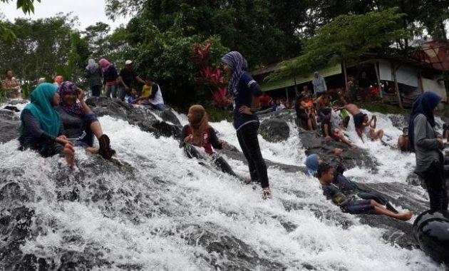 Rute Wisata Kampoeng Banyu River Tubing Malang