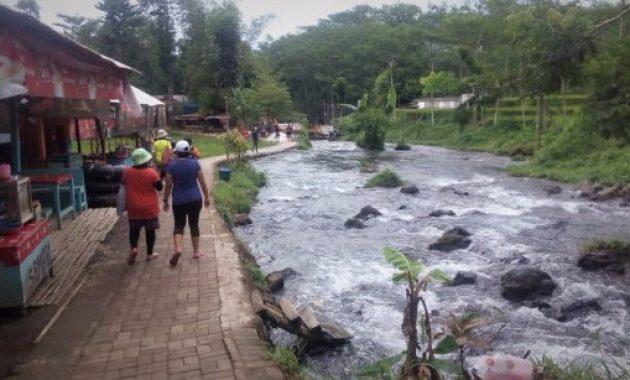 Tiket Masuk Wisata Kampoeng Banyu River Tubing Malang