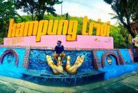 Wisata Foto foto Kampung Tridi Malang