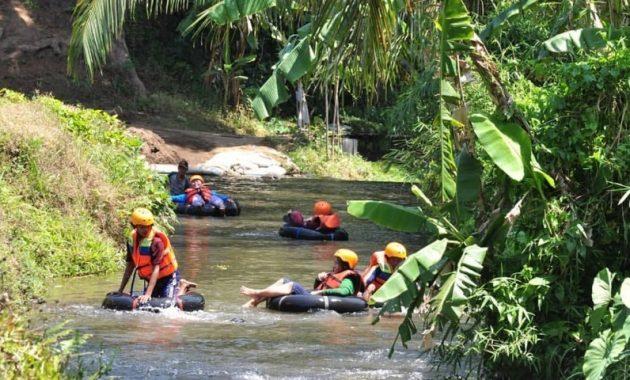 Wisata Kampoeng Banyu River Tubing Malang Terbaru