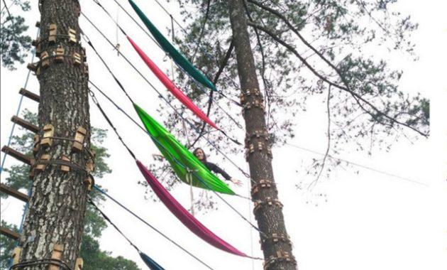 Wisata hammock claket adventure park mojokerto