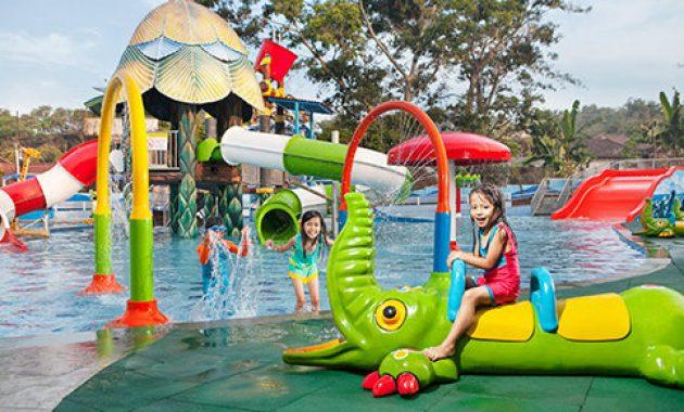 Wahana air di predator fun park malang