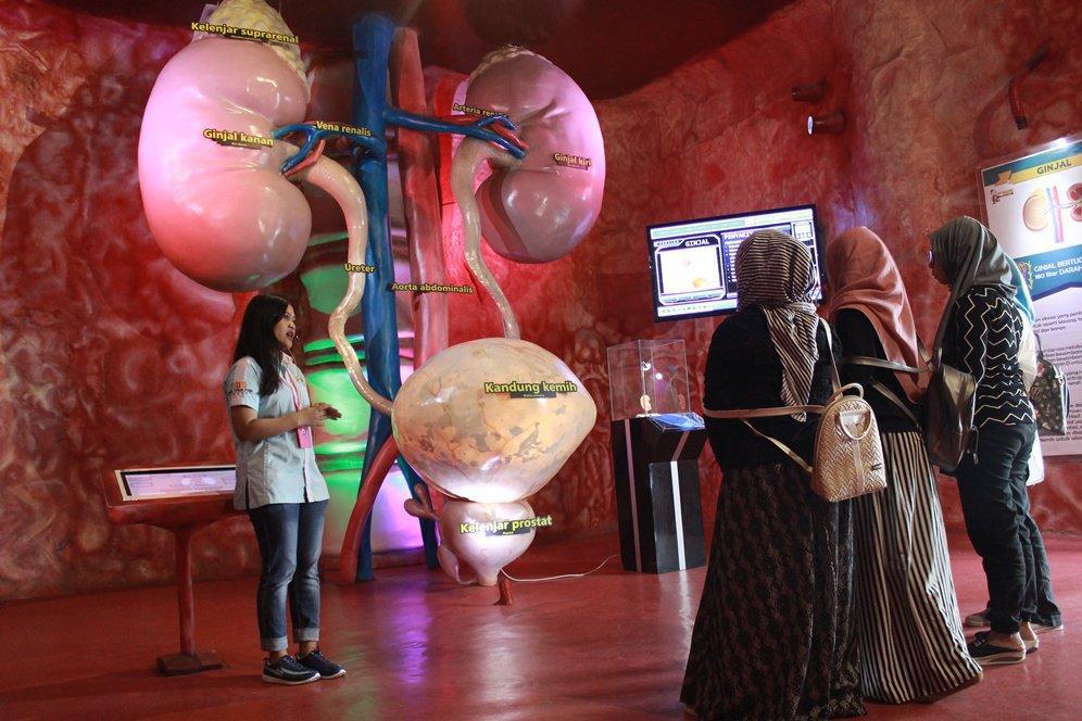Wahana the bagong adventure museum tubuh malang