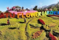 Wisata hits batu flower garden malang