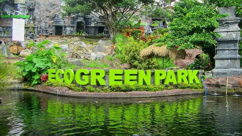 Wahana di eco green park batu malang
