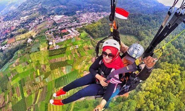 Paket paralayang dan paragliding murah