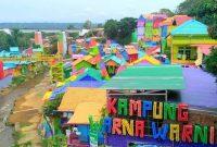 Wisata malang hits kampung warna warni jodipan