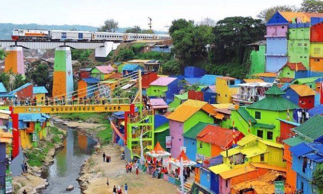 Wisata malang kampung warna warni jodipan
