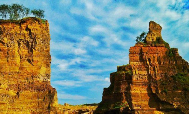 Wisata baru Semarang Brown Canyon