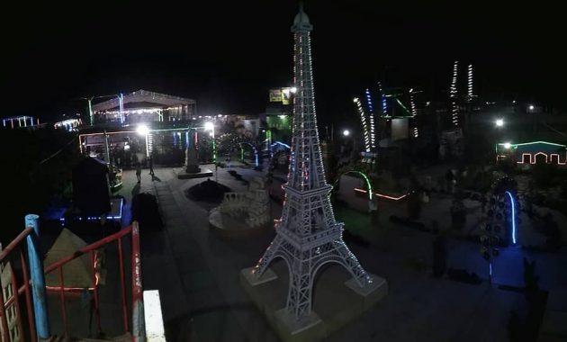 Tempat wisata malam blitar negeri dongeng